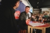 APERITIVOS CINZANO CON... PEP PLAZA. Entrevista-Conversa a BARCELONA amb David Escamilla. 22 ABRIL 2017