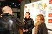 David Escamilla & Elena Imparato a l'estrena del musical ''Boig per tu'', 5 desembre 2013