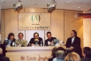 Presentació de la biografia sobre el meu pare ''Bon dia Catalunya. Salvador Escamilla, 40 anys d'ofici'', amb Joan Manuel Serrat i Àngel Casas. El Corte Ingles, Barcelona, març, 2002