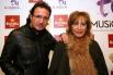 David Escamilla & Elena Imparato a l'estrena del musical ''Boig per tu'' (5 desembre 2013)