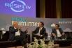 Talking Numintec. Josep Maria Mainat i Toni Cruz presentant el seu projecte Reset.tv Presentació de l'acte: David Escamilla. (Setembre de 2012 - Barcelona)
