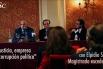 Elpidio Silva (magistrat excedent), Jacint Soler Padró (President FCSC) i David Escamilla (Vicepresident FCSC) - 27 nov 2014 - Cercle del Liceu (Barcelona) - Fundació Catalunya Societat Civil