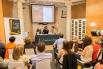Presentació del llibre ''Palabras de amor'', 18-05-15 Madrid, amb Luis García Gil (biògraf Serrat) i Diana Laforteza (Ediciones Alfabia)