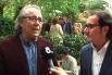 Reportatge de 8tv  - Presentació del llibre ''Palabras de Amor''  amb Joan Manuel Serrat - 28-04-15