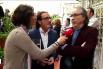 Reportatge de Btv  - Presentació del llibre ''Palabras de Amor''  amb Joan Manuel Serrat - 28-04-15