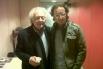 David Escamilla entrevistando a Eduard Punset. Ràdio 4, RNE (Primavera 2012)