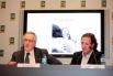 Xavier Trias (Alcalde de Barcelona) y David Escamilla. Presentación del llibre Paraules d,amor. Marzo 2012