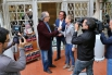 28 de Abril de 2015, Llbreria La Central (Barcelona). Presentación del libro ''Palabras de amor, con la presencia de Joan Manuel Serrat.