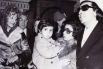 Con el pianista de jazz Tete Montoliu y la cantante Núria Feliu (Barcelona, 1972)