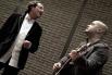 David Escamilla y Jofre Bardagí cantando juntos Palabras de amor de Serrat (marzo 2012)
