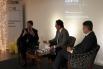 Forum Gild by David Escamilla. José María Antúnez (Bolsa de Barcelona) y Marc Ambrock (Gild International). Barcelona, enero 2013