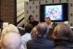 Presentación del libro ''MI vida en un lienzo'', de Charo Velasco. Presentación del acto, David Escamilla. 7 de abril, 2014, La casa del libro, Barcelona