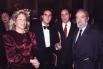 Una noche de gala con el padre y unos amigos en el Salón de los Espejos del Gran Teatro del Liceo (Barcelona, otoño 1994)