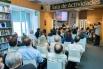 Presentación del libro ''Palabras de amor'', 18-05-15 Madrid, con Luis García Gil (biógrafo Serrat) y Diana Laforteza (Ediciones Alfabia)