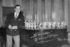 Salvador Escamilla, 13 de enero 1964, Radio Barcelona (Cadena Ser) estrenando su programa Radioscope