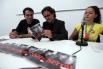Presentación de mi libro ''Serrat, material sensible'', con Luís García Gil. Cádiz, 2005